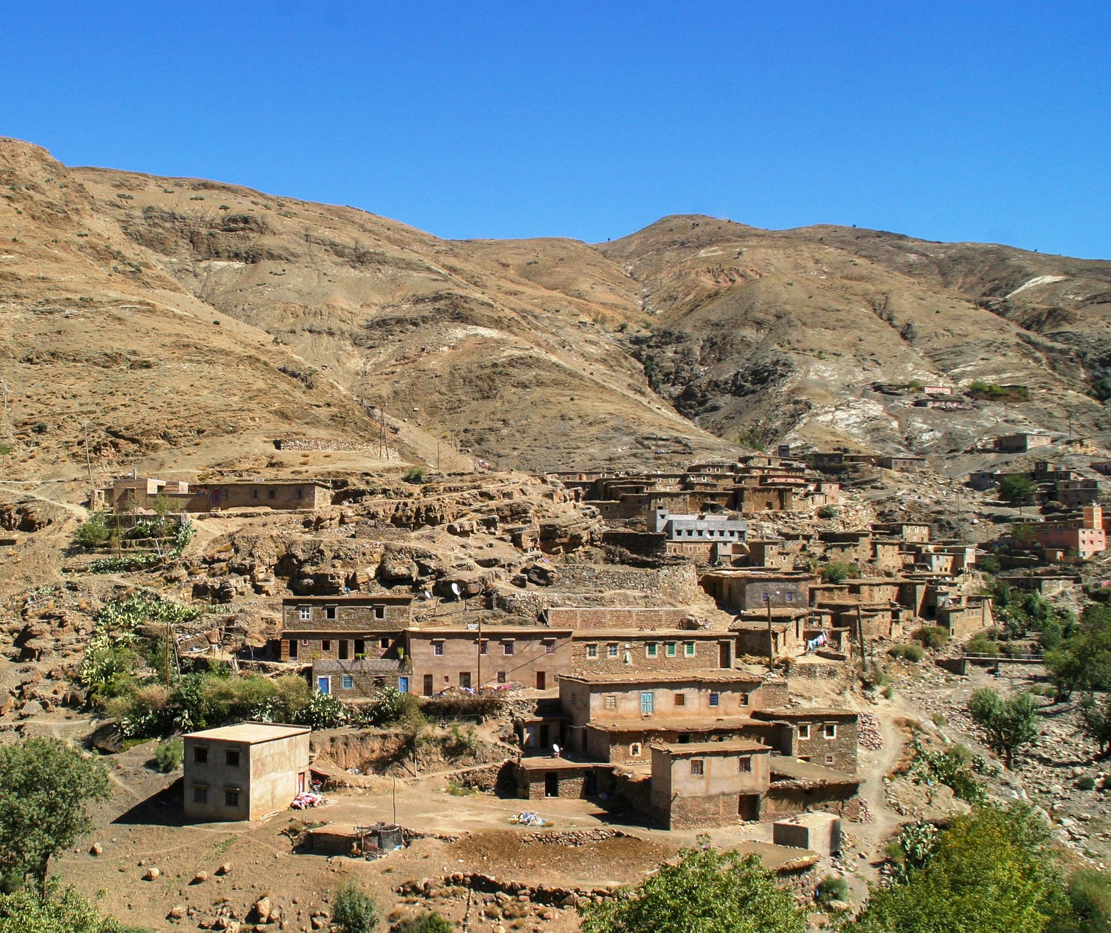 Aldea-bereber-en-el-atlas