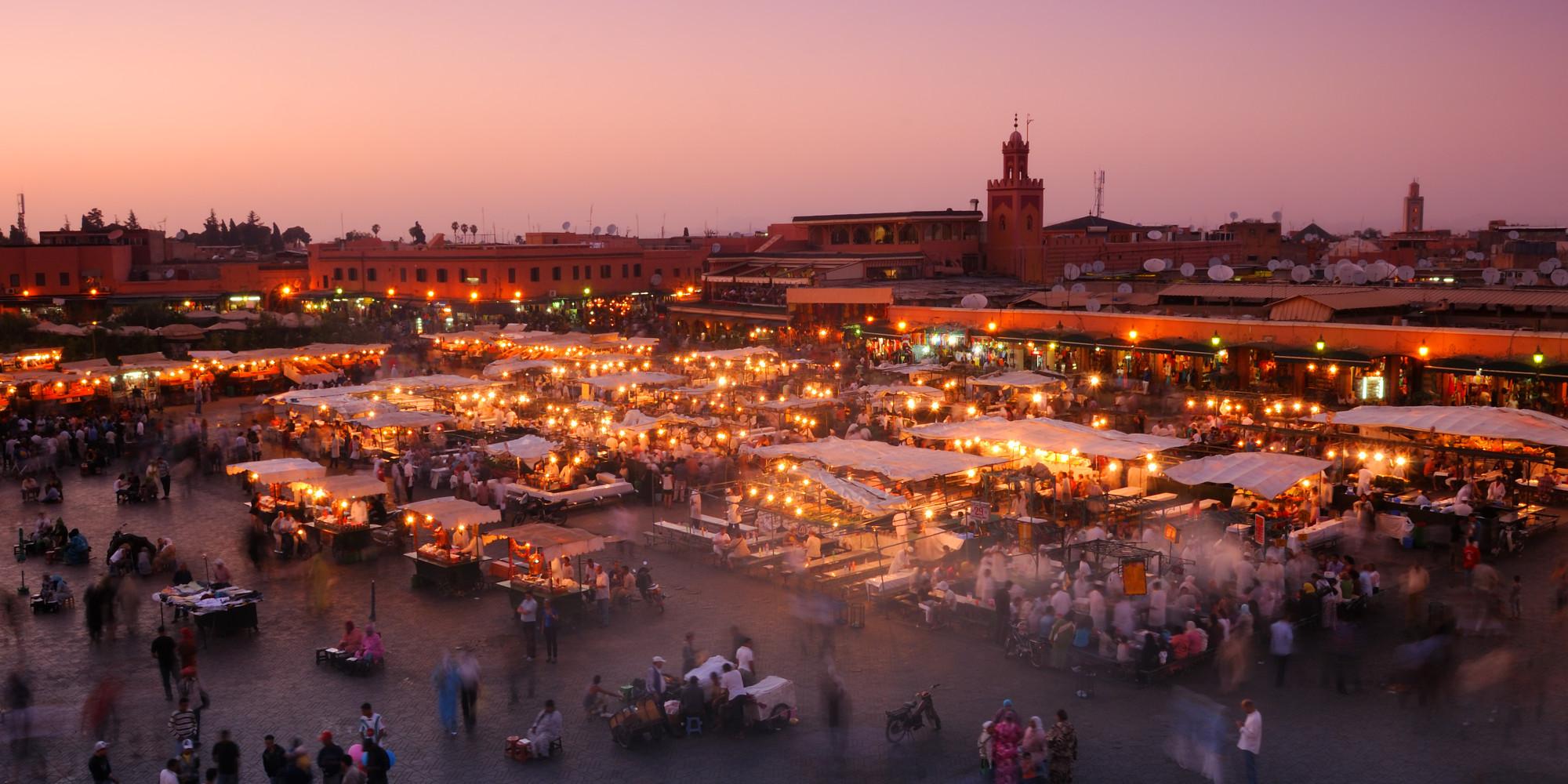 Marrakech-luces