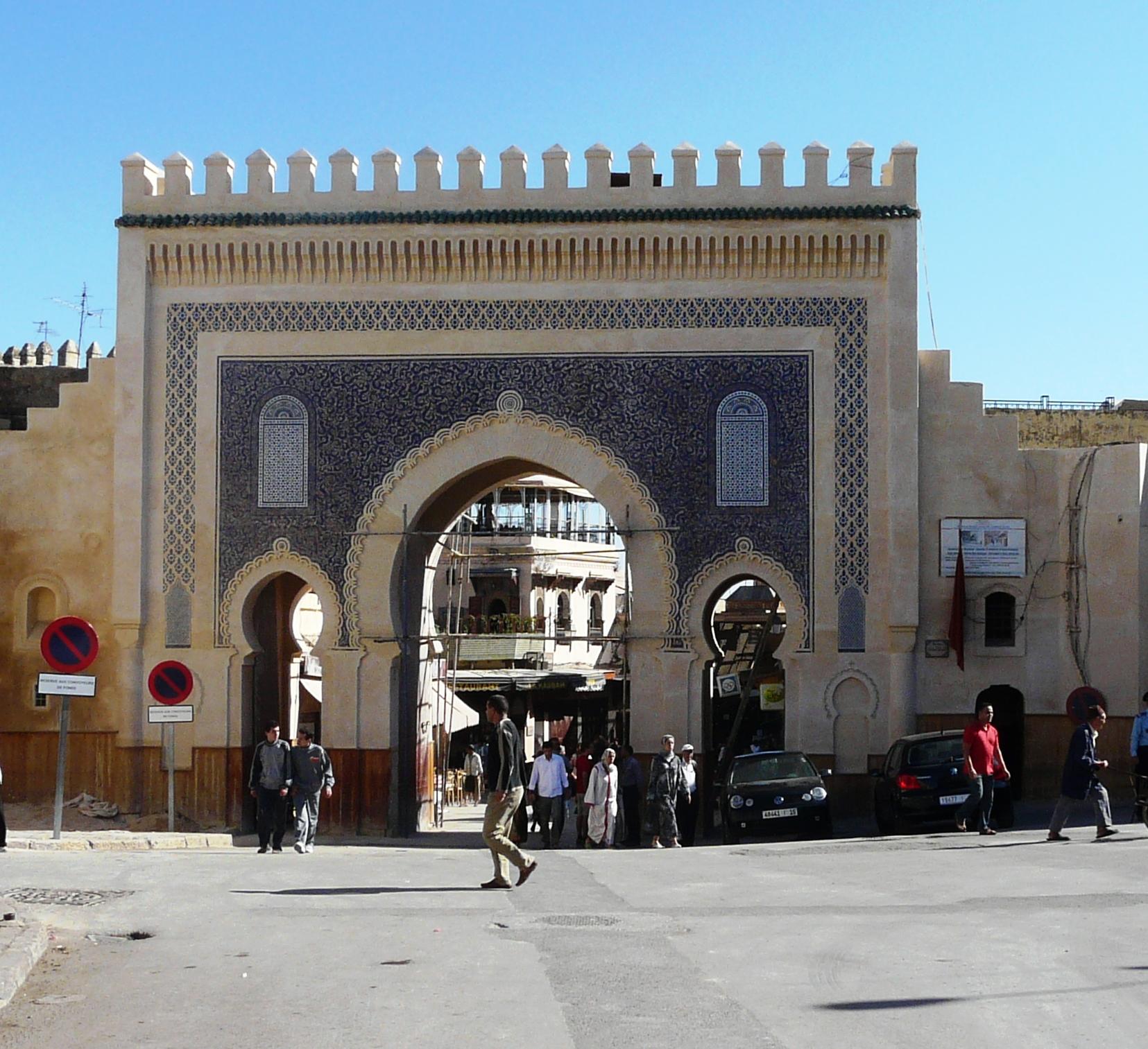 Fez-puerta-marruecos