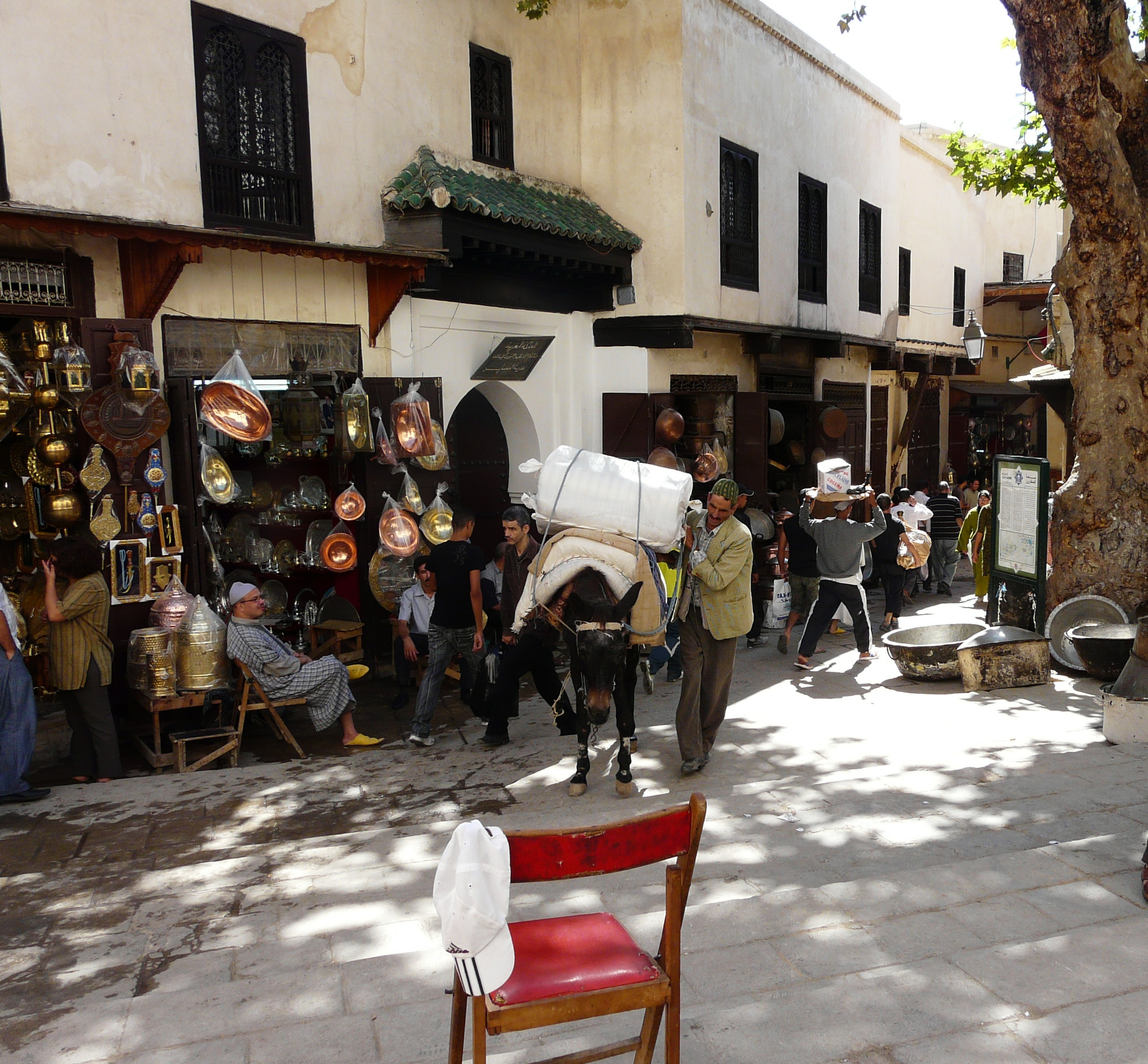 Fez-transporte-medina-marruecos